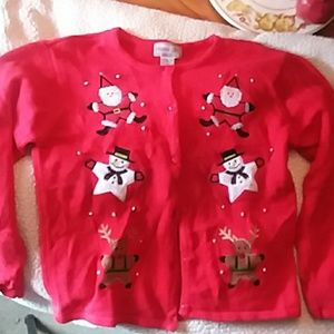 Girls Not - So - Ugly Christmas Sweater  16